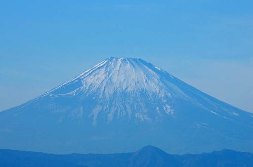 葉山からの富士山201312-3