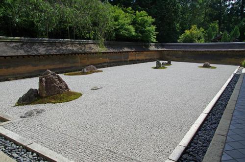 金閣寺龍安寺2013-8