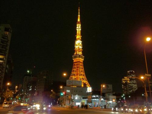 iPhone写真東京タワー