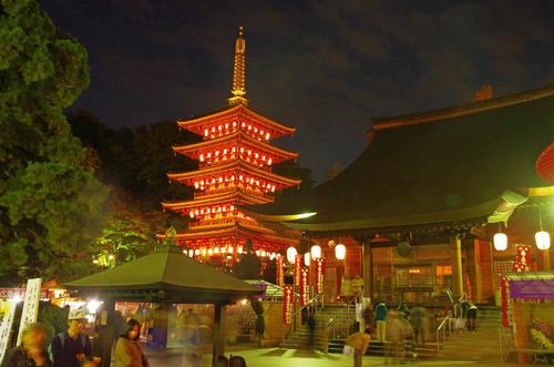 高幡不動尊万燈会201411-8