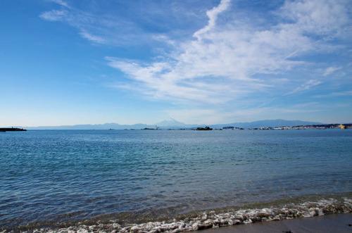 葉山からの富士山201312-6