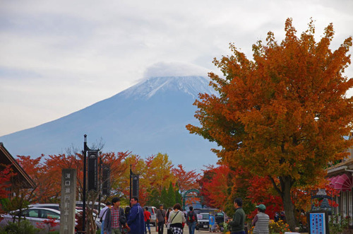 富士五湖の紅葉2013-11