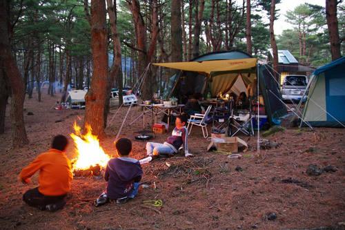 本栖湖キャンプ201005-10