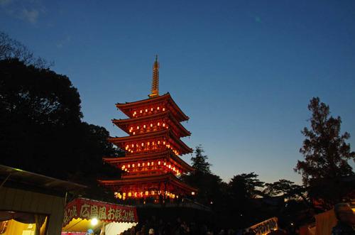高幡不動尊万燈会201411-4