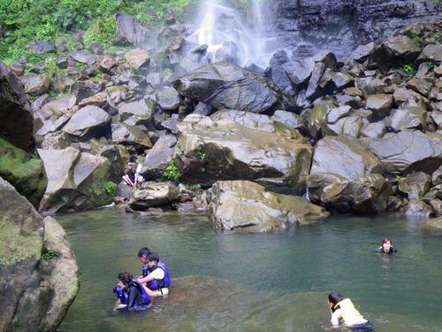 西表島ピナイサーラの滝2010-8
