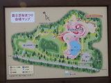 富士芝桜会場看板