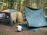 本栖湖キャンプ2008-12