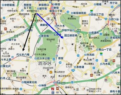 新宿広域地図