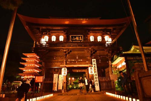 高幡不動尊万燈会2015-9