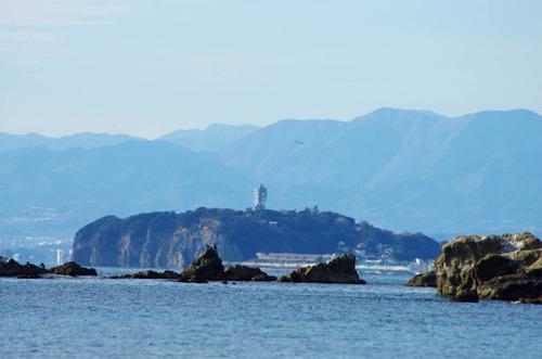 葉山からの富士山201312-7