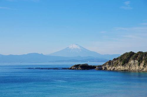 葉山からの富士山201312-1