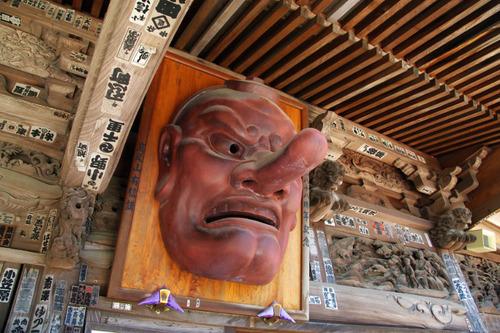 高尾山大天狗小天狗2010-7
