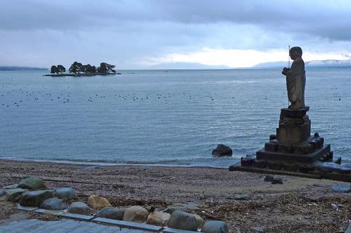 宍道湖の夕景201212-7