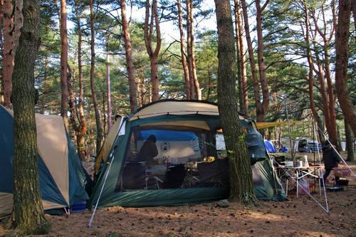 本栖湖キャンプ201005-6