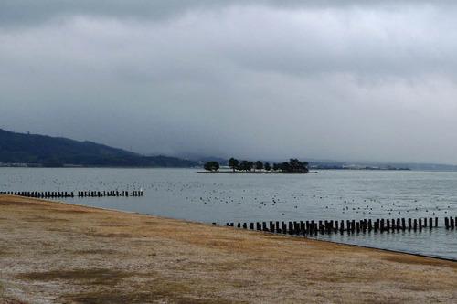 宍道湖の夕景201212-3