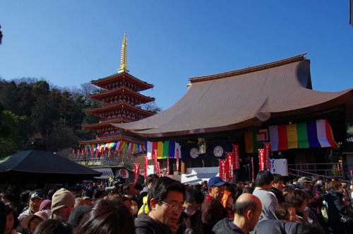 高幡不動尊節分会2013-8