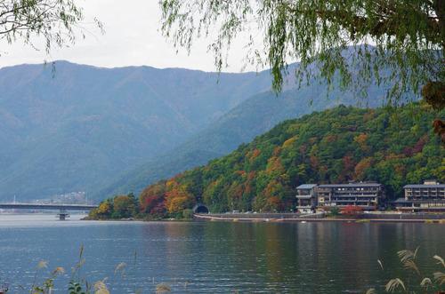 富士五湖の紅葉2013-10