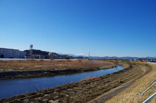 浅川河川敷201301-4