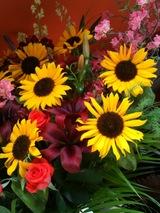 お花を頂いた
