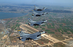 300px-Kunsan_air_base_with_F-16s