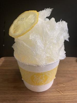 広島大長レモンの氷
