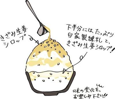 きざみ生姜イラスト小