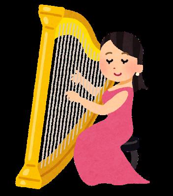 musician_harp_woman