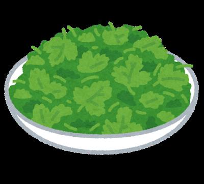 vegetable_pakuchi_coriander_dish