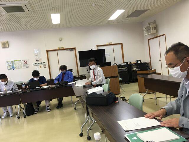 写真6 酒米部会開会