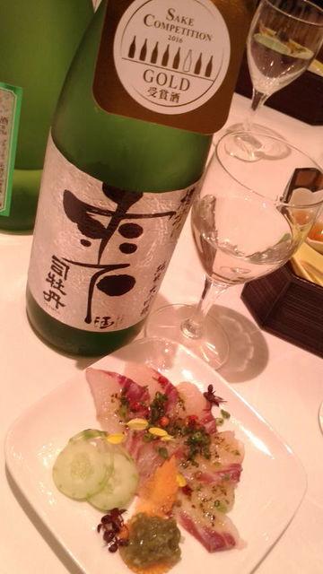 (6)「雫酒」と「真鯛」