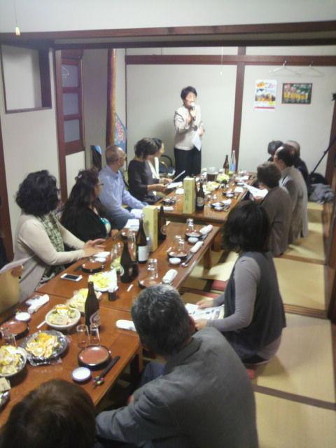 (4)松崎先生ご挨拶