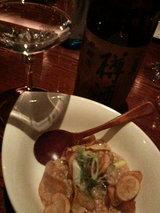 2009.2.25樽酒とフォアグラ