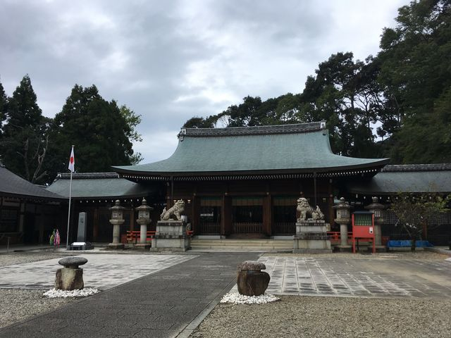 写真14 護国神社本殿