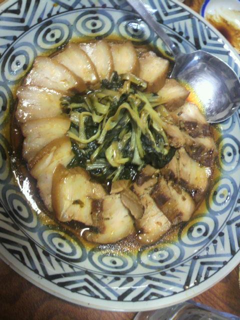 (25)角煮と潮江菜