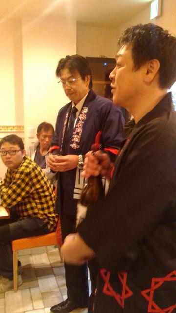 (7)矢島さんと久保さんご挨拶
