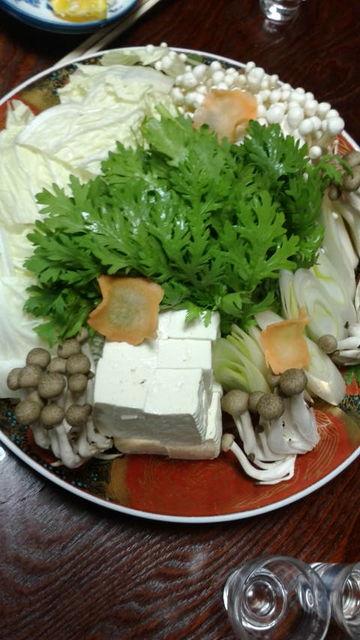 (24)鍋の野菜