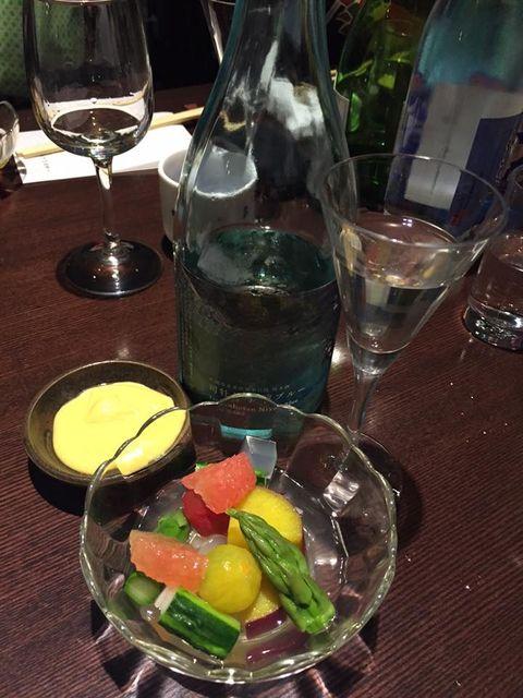 (12)「仁淀ブルー」と冷菜