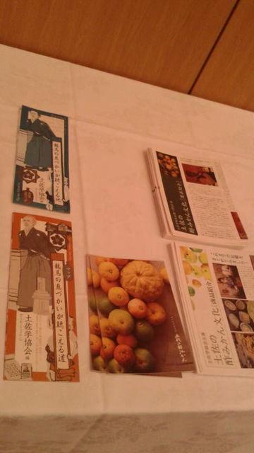 (4)「龍馬」マップ、「酢みかん」パンフ等