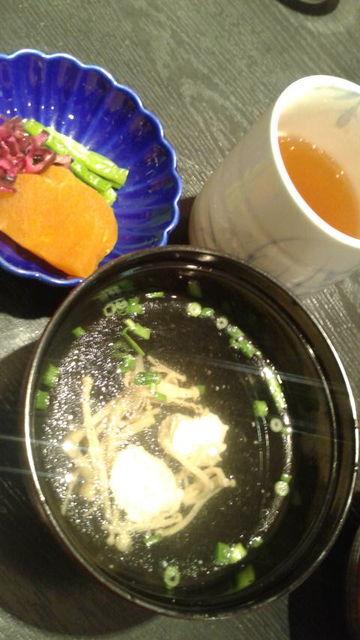 (4)昼食・吸い物、漬物