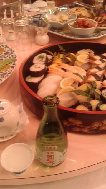 (25)「金凰司牡丹」と料理