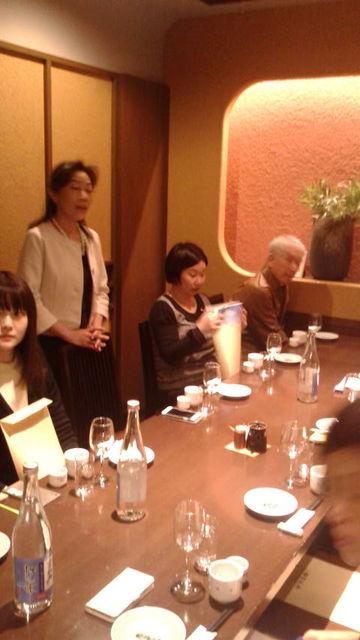 (3)友田さんご挨拶