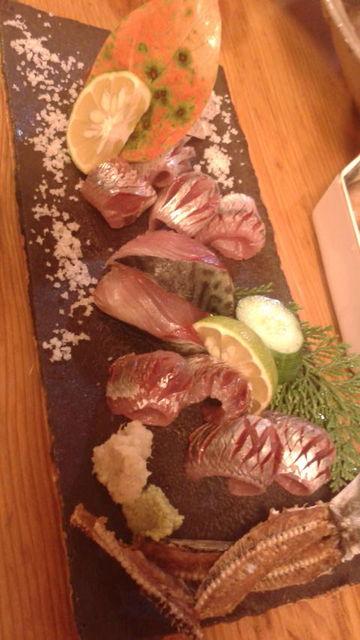 (11)ウルメと清水サバの刺身