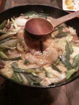 牡丹鍋(猪鍋)