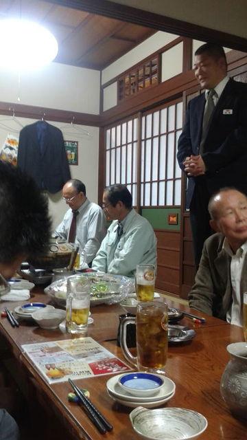 (9)懇親会開会