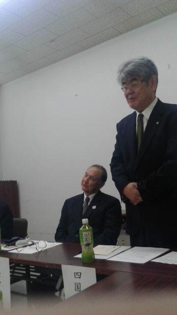 (2)吉田支部長ご挨拶
