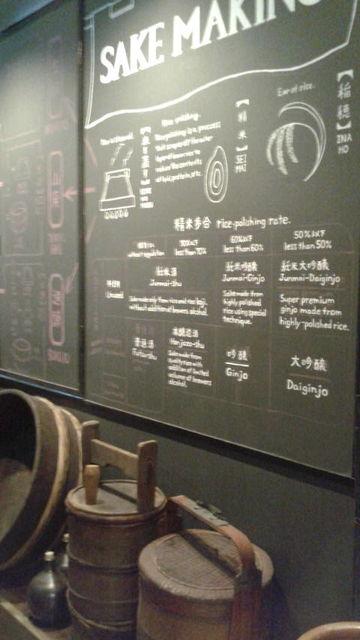 (6)酒造り解説と酒道具展示