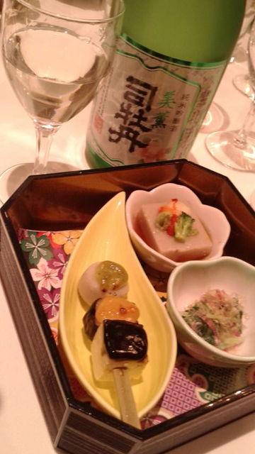 (5)「美薫」と「前菜」
