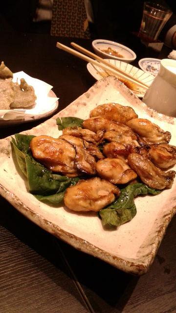 (19)焼き牡蠣