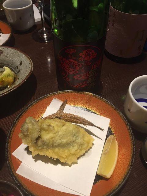 (16)「司牡丹・封印酒」と揚物