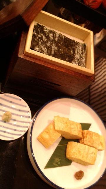 (11)焼き海苔と玉子焼き